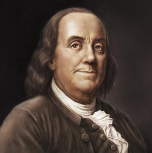 Benjamin Franklin Alcohol Lover