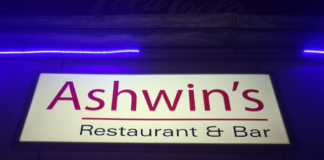 Ashwin Restaurant & Bar Header image for unsober review
