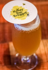 Honey Bee Braggot image for unsobered listicle for craft beer beginners