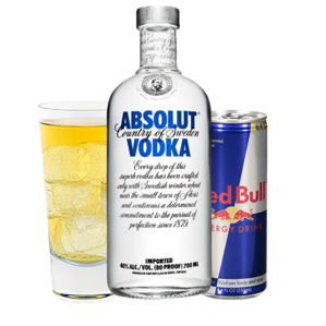 Red Bull Vodka image for unsobered listicle on music and alcohol pairings