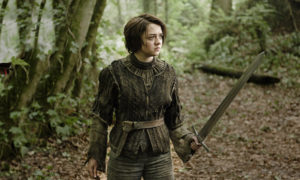 Arya image for unsobered listicle on GoT themed cocktails