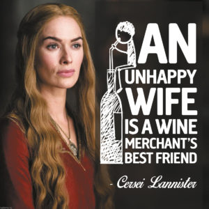 Cersei Lannister Game of thrones Quote for Unsobered Listicle