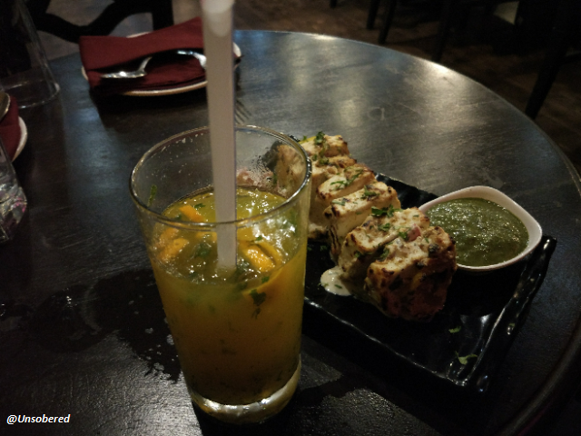 Mandarin Mojito and Cottage Cheese image at Stallion for unsober review
