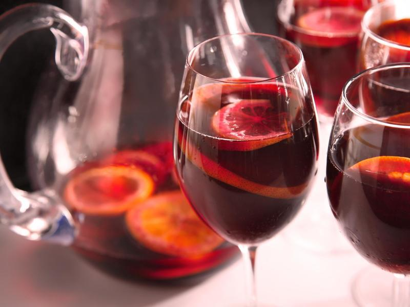 Sangria for Unsobered Listicle on Expensive Mumbai Cocktails