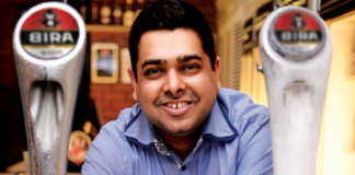 Ankur Jain Bira image for header pic of unsobered listicle on alcohol CEOs