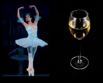 Ballet and Win image for Unsobered listicle on dance forms and alcohol