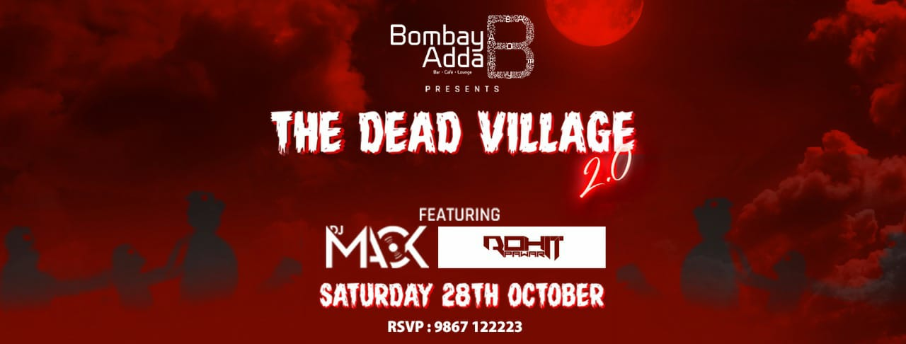Bombay Adda Halloween Image for unsobered listicle on events