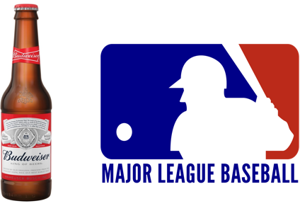 Bud MLB association for Unsobered listicle on beer sport sponsorships