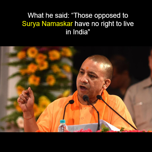 Yogi Adityanath image for unsobered listicle on drunk indian politicians