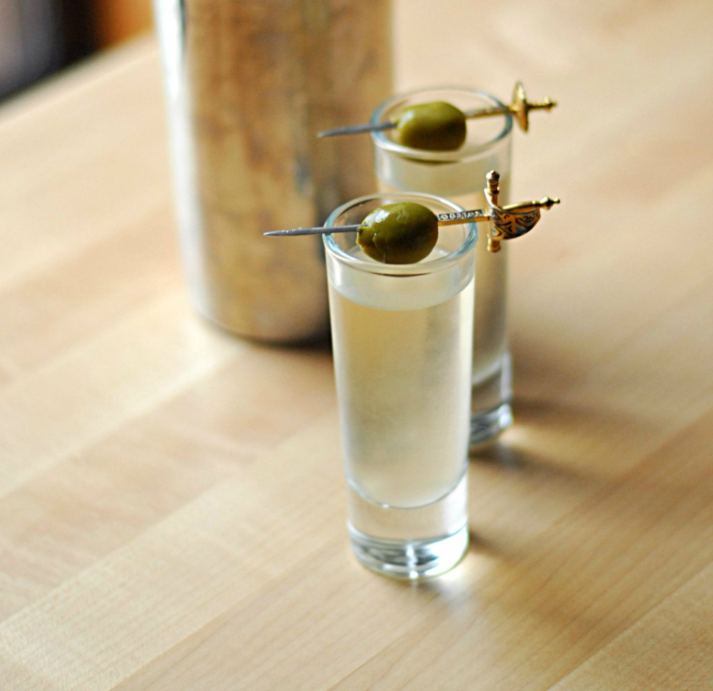 Image for unsobered listicle on tasty vodka shots