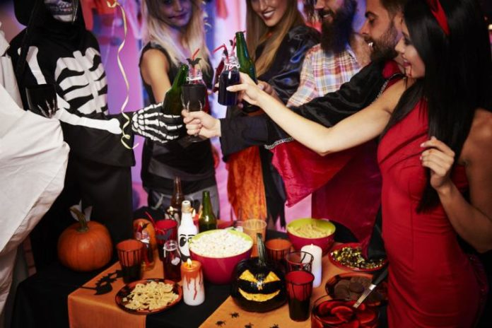 Image for unsobered listicle on halloween parties