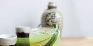 Image for unsobered listicle on sake cocktails