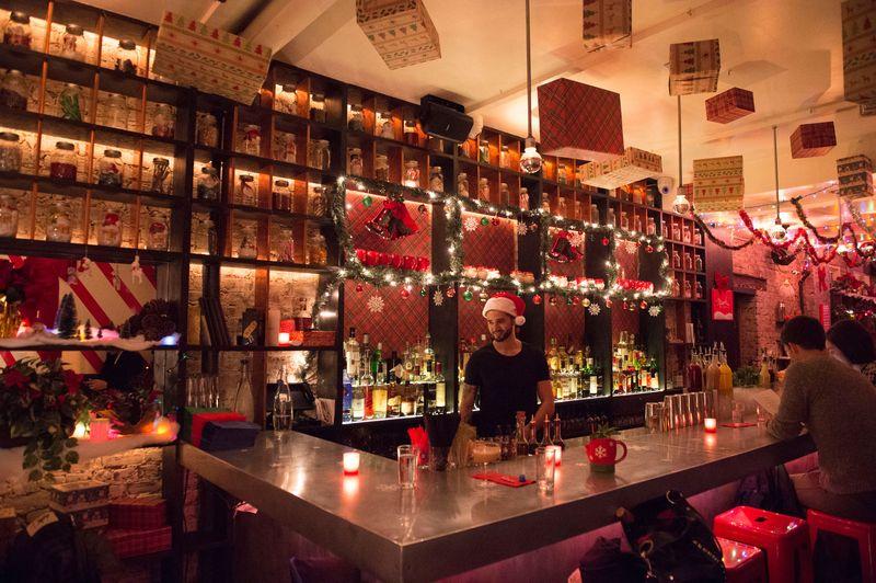 Image for unsobered listicle on christmas bars