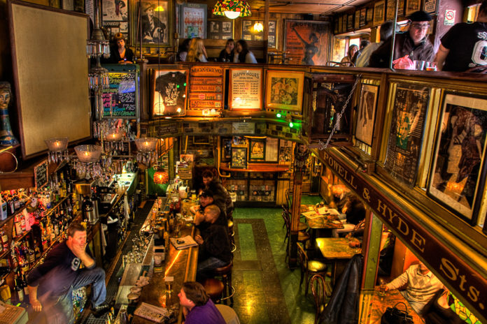Image for unsobered listicle on authors favourite bars