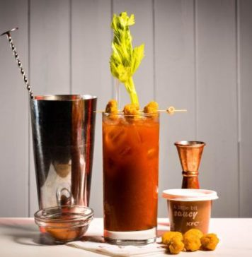 Image for unsobered article on kfc gravy cocktails